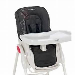 Housse Pour Chaise Haute : housse b b confort pour chaise haute omega poetic black pas cher ~ Teatrodelosmanantiales.com Idées de Décoration