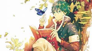 Anime Guy Reading A Book Wallpaper | Wallpaper Studio 10 ...
