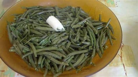 cuisiner des haricots verts frais comment cuire haricots verts en boite