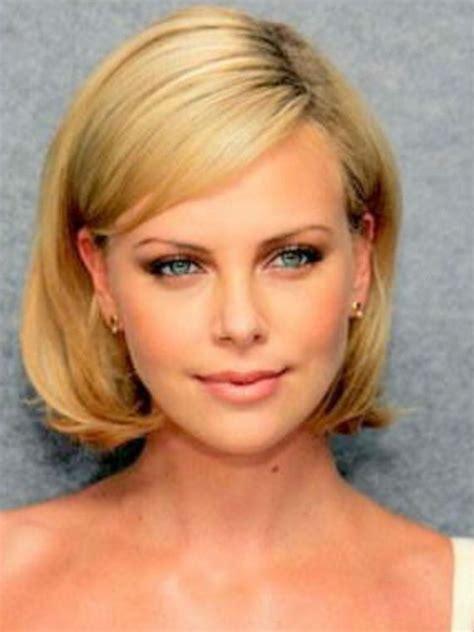 charlize theron bob beautiful blondes pinterest