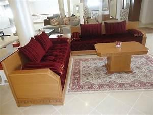sejour marocaine meubles et decoration tunisie With meuble de cuisine rustique 19 salon marocain