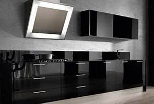 Awesome Cucine Moderne Nere Gallery Acrylicgiftware Us