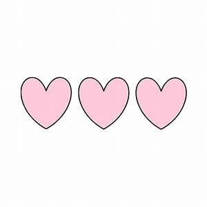 transparent heart on Tumblr