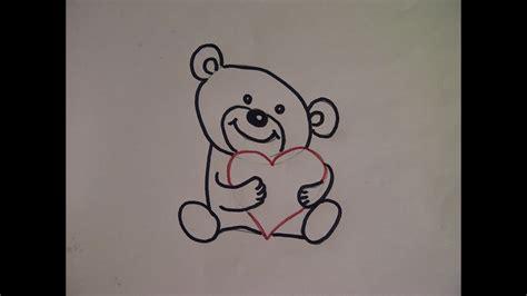 bilder malen leicht teddyb 228 r zeichnen kuschelb 228 r malen zeichnen lernen f 252 r anf 228 nger how to draw teddy