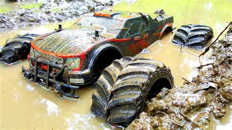 monster truck mud racing rc car mud racing 4x4 jlb racing cheetah monster truck