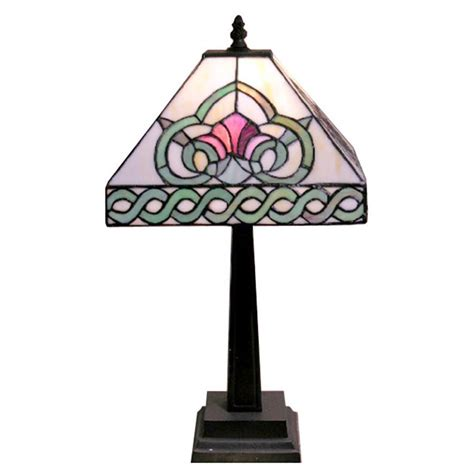mission style tiffany l tiffany style mission table l 224668 lighting at