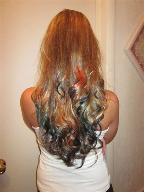 Tye Dyed Hair Dyed Hair Hair Hair Makeup