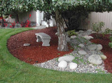 Grass Bark Backyard Landscape Ideas For Small Yards Nursery Plants Raipur Ed Schwegler Landscaping Stano Milwaukee Walsh Brockton Use Ed's Environmental Tuttles & Landscape Inc Show Dubai