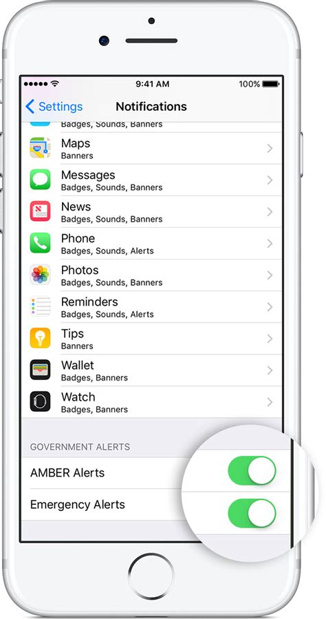 iphone emergency alerts wireless emergency alerts changed by fcc after ahmed