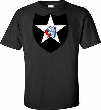 Shirt Infantry 2nd Division Army