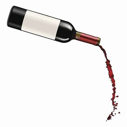 Pouring Wine Vector Clip Bottle Illustrations Glass