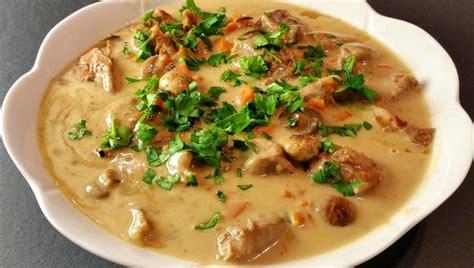 recette cuisine traditionnelle mariatotal blanquette de veau traditionnelle