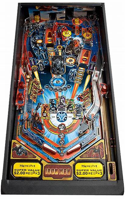 Iron Pinball Stern Flipper Machine Playfield Vault