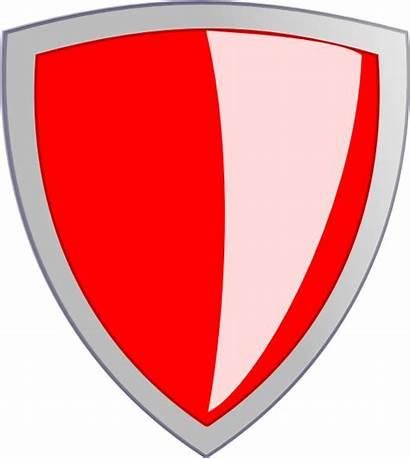 Security Clipart Shield Clip Cross Vector Clker