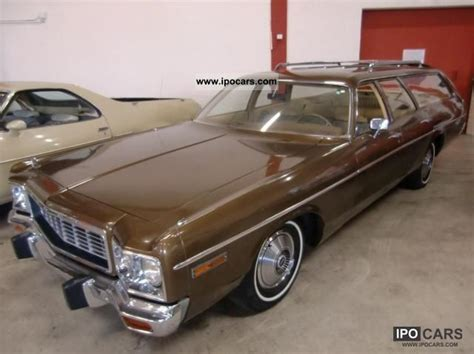 Charger Station Wagon by 1973 Dodge Charger Wagon Car Photo And Specs