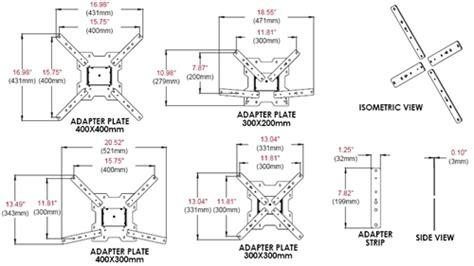 Vesa Desk Mount Articulating Arm by Mount Center Peerless Ybadp4x4 Vesa 300 X 200 300 X