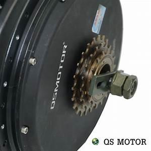 Qs, Motor, 1200w, 212, 35h, V1, 12, Electric, Bike, Spoke, Hub, Motor