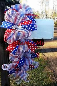 D Day Deco : patriotic mailbox swag patriotic swag memorial day decor ~ Zukunftsfamilie.com Idées de Décoration