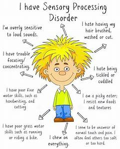 Sensory Processing Disorder Diagram