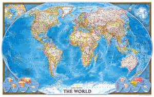 Geographic World Map