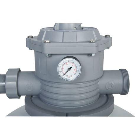 bestway gph sand filter pump system   ground
