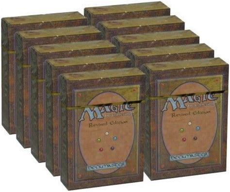 Mtg Alpha Starter Deck Box by Revised Starter Box Of 10 Decks Mtg Magic The