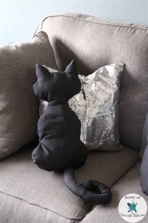 cat pillow diy luna pillow diy cat pillows some of this and that
