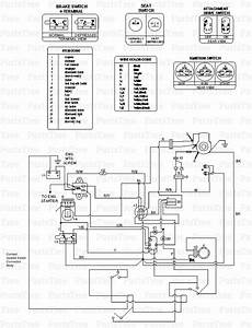 Cub Cadet Wiring Diagram For 1100