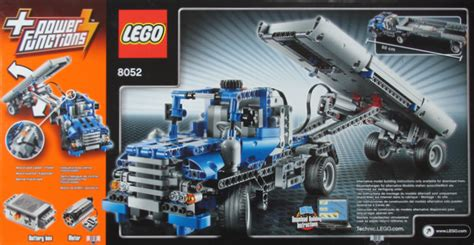 Обзор набора 8052 Контейнеровоз  Lego® Обзоры