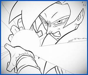 dibujos para colorear de dragon ball z goku ssj2 Archivos ...