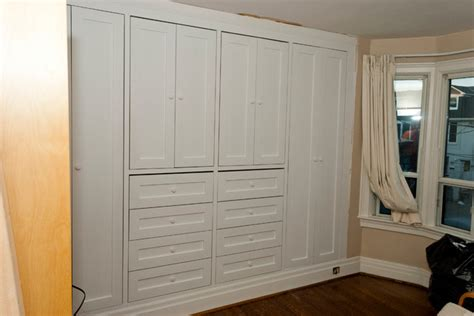 built in closets high park two built in closets traditional bedroom