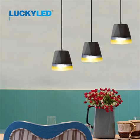 country style hanging light fixtures luckyled vintage cement pendant lights american country