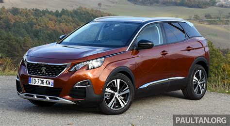 Peugeot 3008 – 2nd-gen to debut in Malaysia, Q2 2017 Image ...