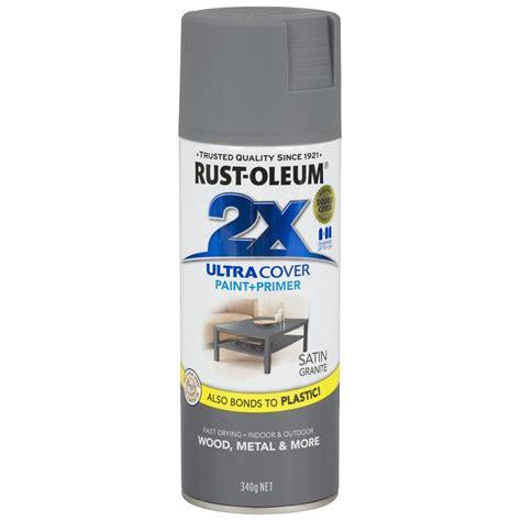 rust oleum 340g ultra cover 2x satin granite spray paint