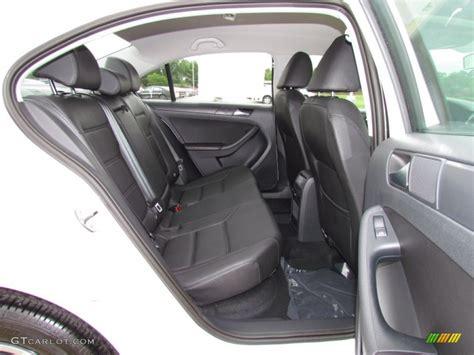 Titan Black Interior 2012 Volkswagen Jetta S Sedan Photo
