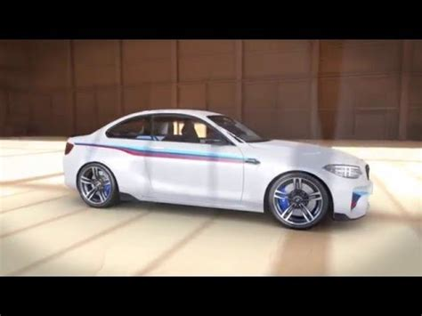 bmw m2 performance animation bmw m2 coupe with bmw m performance parts