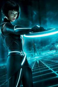 Olivia Wilde As Quorra Tron Legacy iPhone 4 Wallpaper and ...
