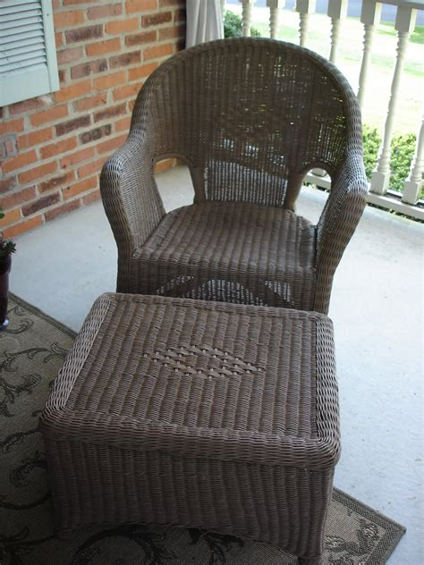 this is home wicker furniture redo