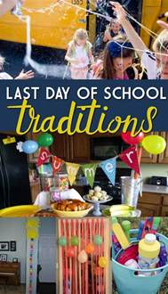 last day of school traditions