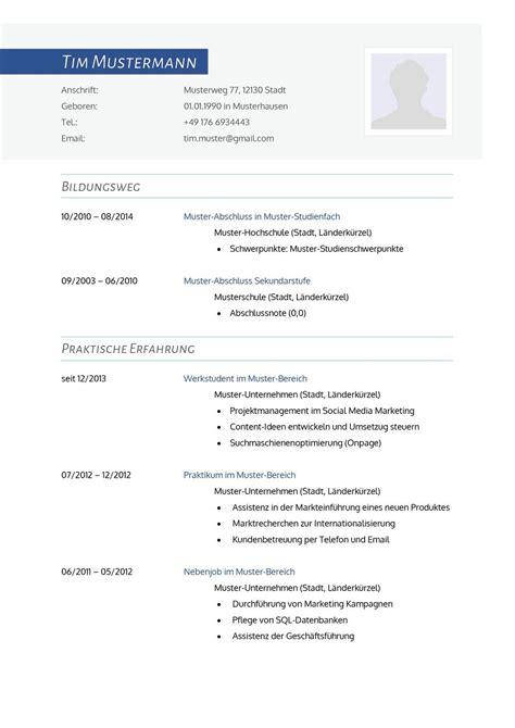 Lebenslauf Vorlage by Lebenslauf Muster F 252 R Gesundheitsberater Lebenslauf Designs