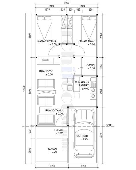 gambar rumah minimalis  lantai ukuran  desain rumah