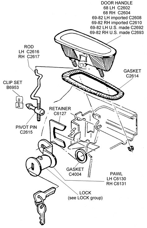 Car Latch Diagram by Door Mechanism Diagram Sc 1 St Patents