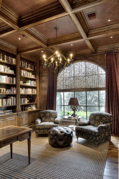 A White And Wood House For A Stylish Family by 36 Stylish And Timeless Coffered Ceiling Ideas For Any