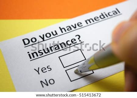 In response to concerns about the affordability of marketplace aca plans, congress passed the tax cuts and jobs act (tcja) at the end of 2017. Do You Have Medical No Stock Photo (Edit Now) 515413672 ...