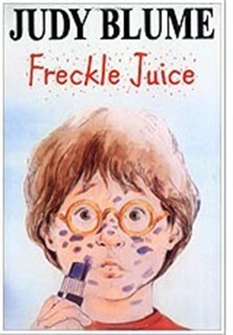 freckle juice  judy blume