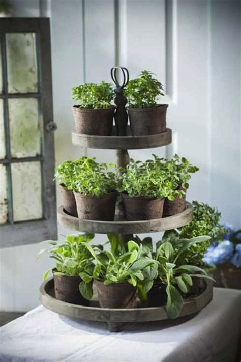Indoor Herb Garden Pot Planters Ideas by 1000 Ideas About Herb Planters On Kitchen