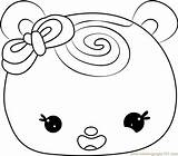 Swirl Slime Coloring Template Noms Num sketch template