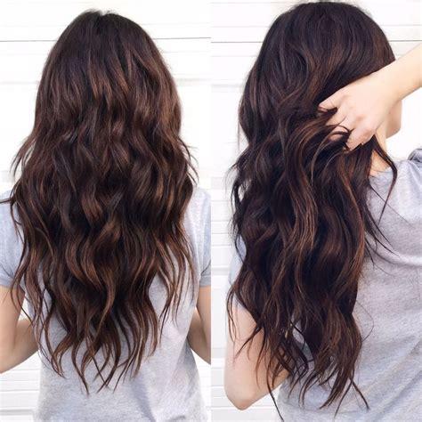 Hair Dye Ideas For Brown Hair by Best 25 Chocolate Brown Hair Color Ideas On