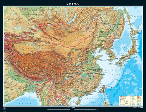 physical map  china   printable relief maps
