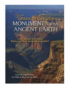 The Grand Canyon  Monument To An Ancient Earth  Can Noah U0026 39 S